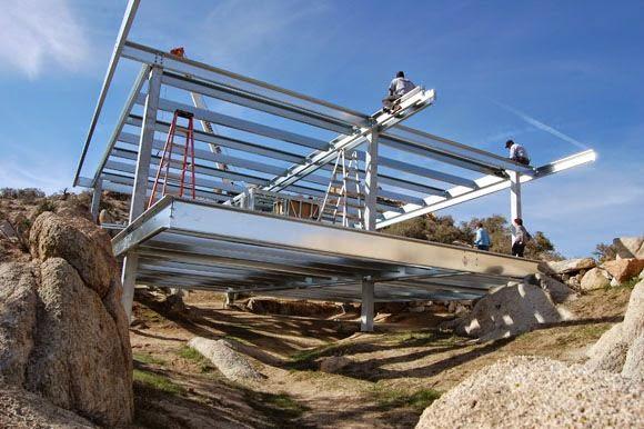 El blog de inmobiliaria cantabria casas industriales - Casas con estructura metalica ...