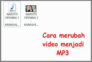 cara mengubah format video menjadi mp3 online