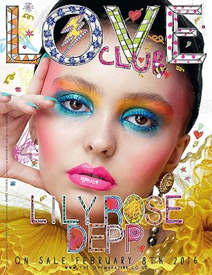 Lily-rose Depp has graced the cover of the new issue of the British magazine LOVE