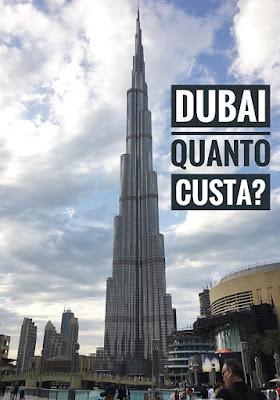 Quanto custa viajar para Dubai?