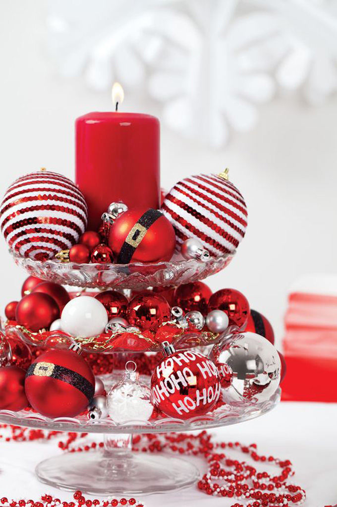 decorating with baubles ideas for christmas