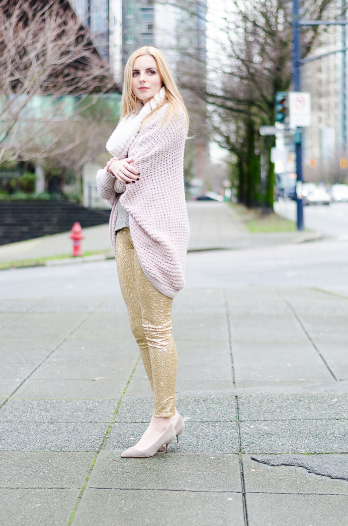 the urban umbrella style blog, vancouver style blog, vancouver fashion blog, vancouver lifestyle blog, vancouver health blog, vancouver fitness blog, vancouver travel blog, canadian fashion blog, canadian style blog, canadian lifestyle blog, canadian health blog, canadian fitness blog, canadian travel blog, bree aylwin, how to style sequin leggings, gold sequin leggings, how to style a oversized cardigan, american eagle sweater, best fashion blogs, best style blogs, best lifestyle blogs, best fitness blogs, best health blogs, best travel blogs, top fashion blogs, top style blogs, top lifestyle blogs, top fitness blogs, top health blogs, top travel blogs