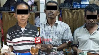 Tombok Dadu,  Dua Orang dan Satu Bandar Diringkus Polisi