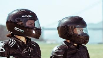 Smart helmet 'Jarvish'