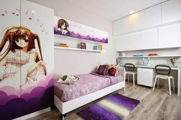 Dormitorios tema anime dormitorios colores y estilos for Imagenes para decorar cuartos