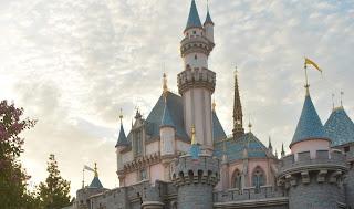Sunset Sleeping Beauty Castle