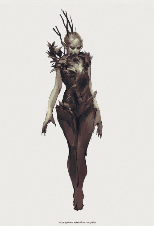 Daria Rashev artstation arte ilustrações fantasia ficção científica terror sombrio games