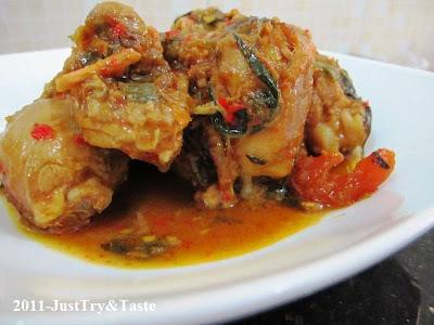Resep Ayam Woku Belanga