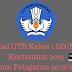 Soal UTS Kelas 1 SD/MI Kurikulum 2013 Tahun Pelajaran 2018/2019 - Mutu Sekolah