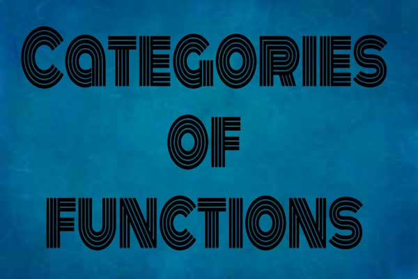 categories of functions in c++ programming, learn c++ programming