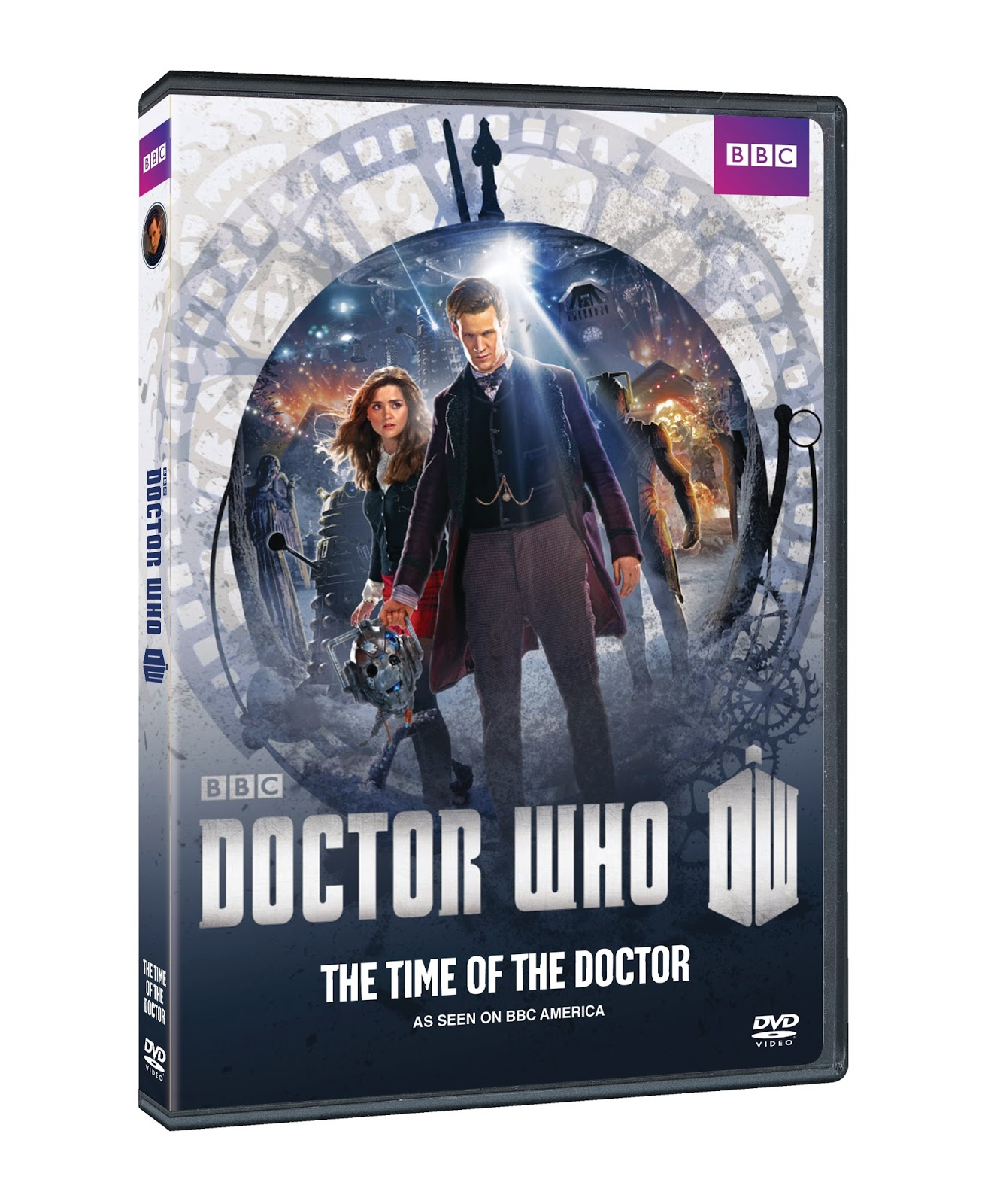 DVD Review - Doctor Who: The Time of the Doctor
