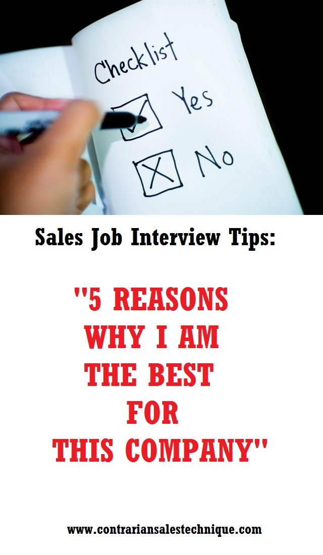 5 Reasons Why I Would Be a Good Pharma Sales Rep - Sales Skills
