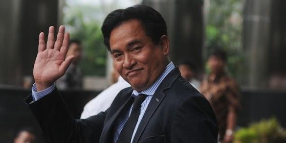 Canda Yusril gugatan HTI baru dikabulkan kalau Jokowi diganti
