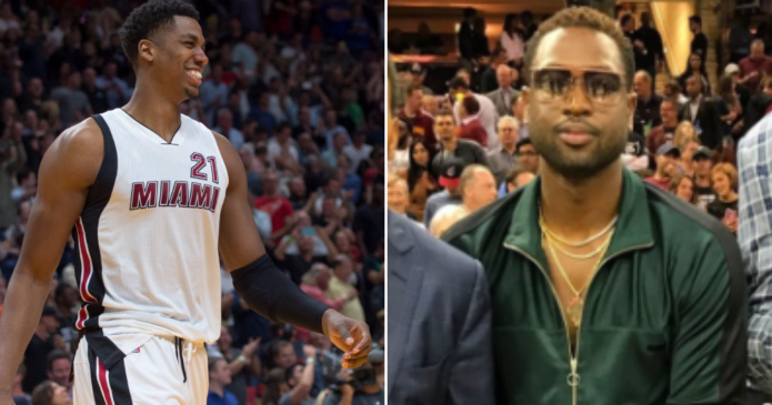 Hassan Whiteside Roasts Dwayne Wades Outfit From Game 4 -8818