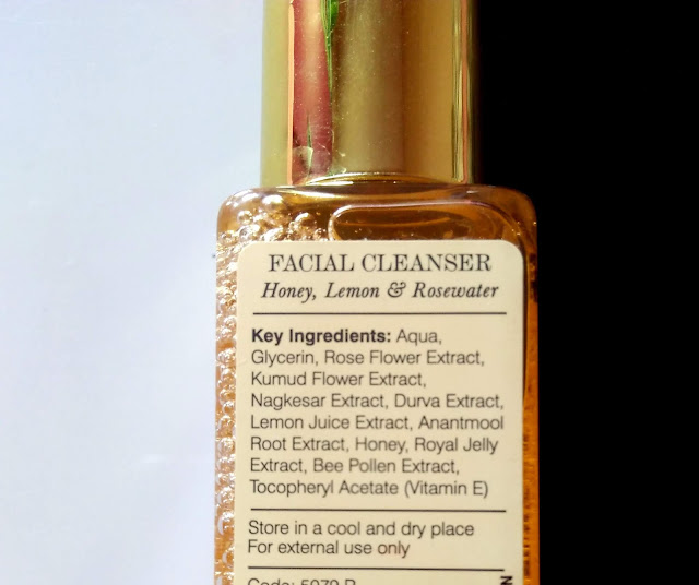 Forest Essentials Delicate Facial Cleanser with Mashobra Honey, Lemon, Rosewater