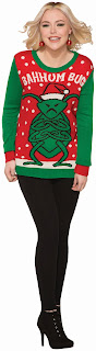 Bahhum Bug Christmas Adult Sweater