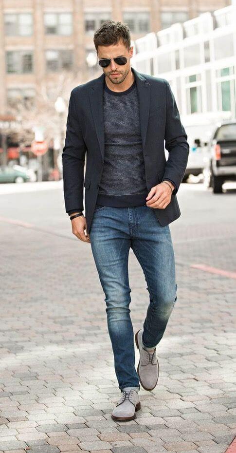 Jean homme pas cher tendance 2018 - Look homme printemps 2018 : Tendance et mode masculine
