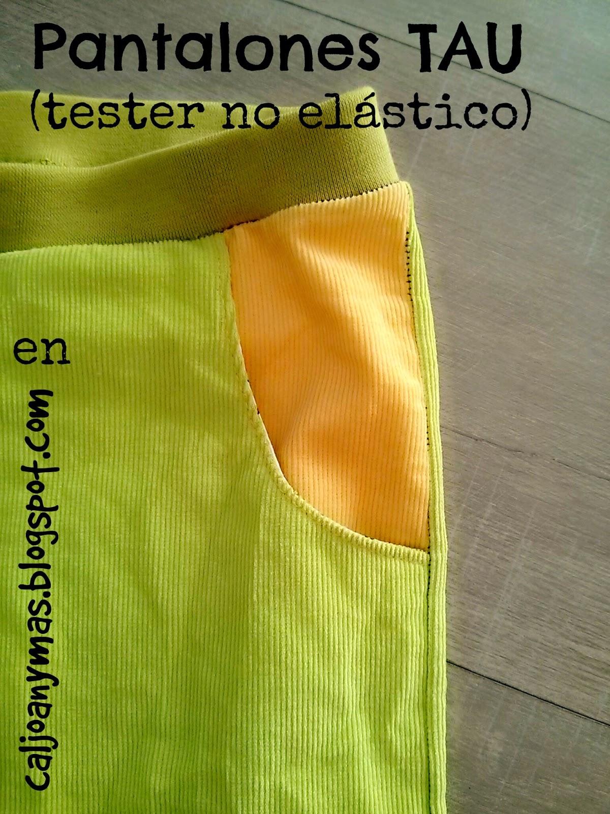 Cal Joan Y Mas Pantalones Tau Mrdm Tester No Elastico