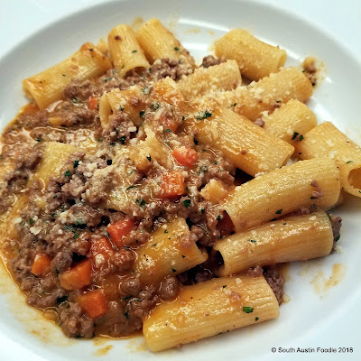 Frenchish -- lamb bolognese
