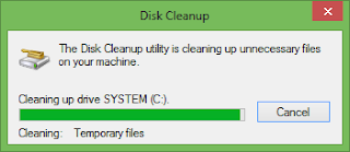 in addition to hence larn to the Manage card in addition to click the Cleanup How to Clean Hardisk inward Windows 8