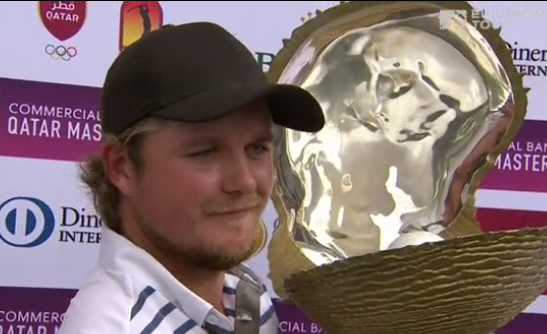 Eddie Pepperell, Oliver Fisher, Qatar Masters golf 2018, European Tour title.