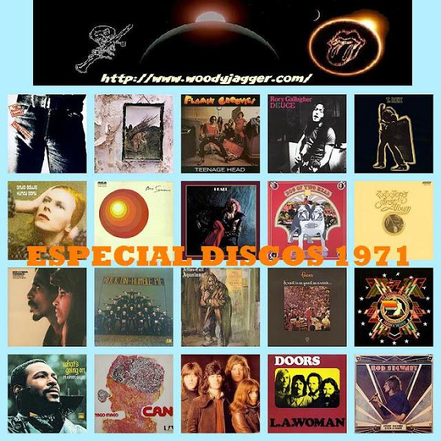 Los mejores discos de 1971