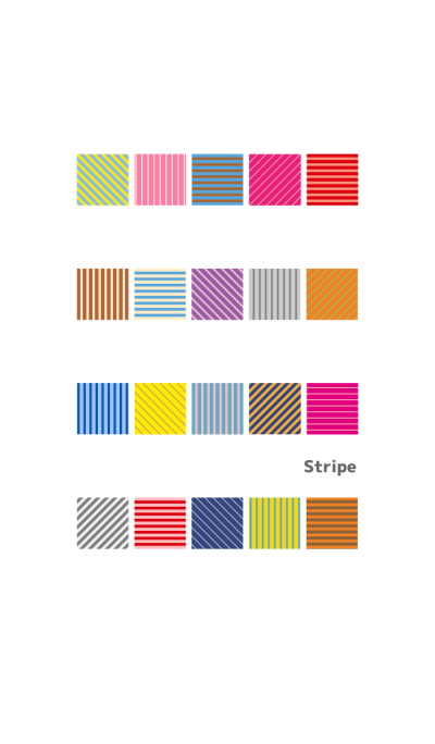 A lot of stripe (Japanese ver)