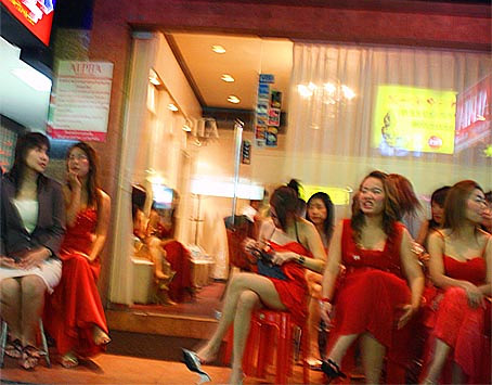 Bangkok nightlife girls