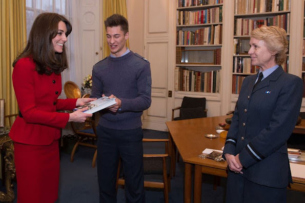 Prince Philip has passed on his patronage of the RAF Air Cadets to the Catherine Duchess of Cambridge