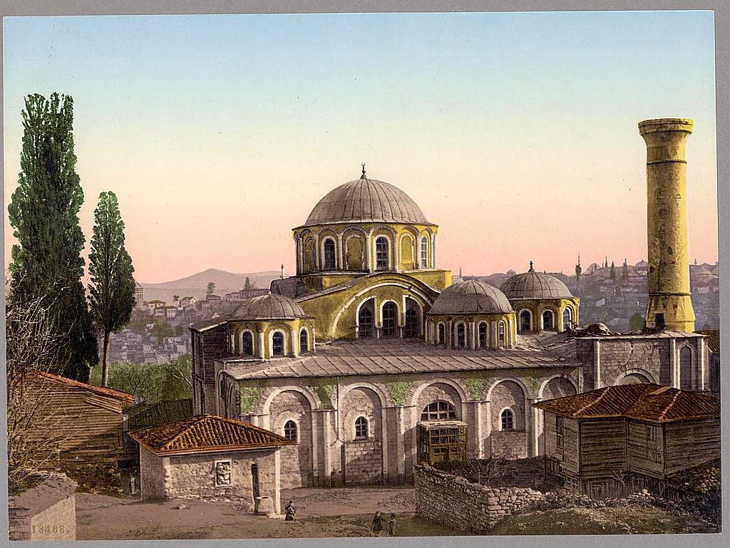 Byzantine Istanbul: Four great Byzantine monasteries of ...