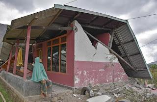 Innalillahi, Lombok Kembali Diguncang Gempa 6,2 SR