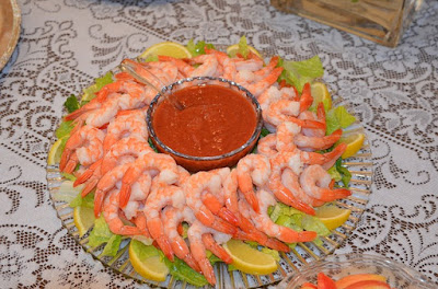 Platter of Shrimp Cocktail