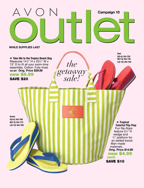 Avon Outlet Campaign 10 good through 4/29/16