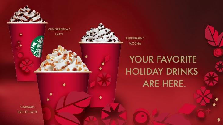 Starbucks Seasonal Drinks  Winter