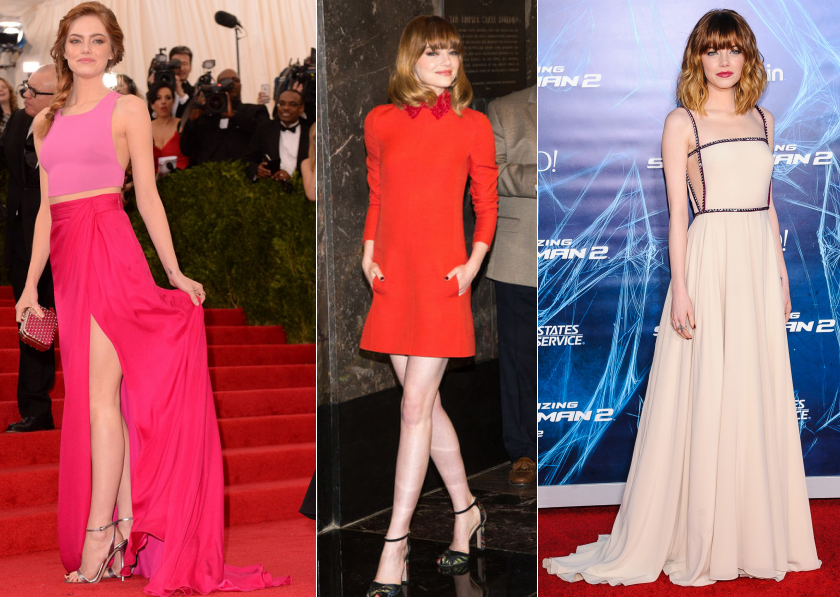 best dressed emma stone