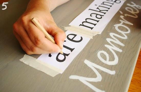 Cara Membuat Kerajinan Tangan Sederhana - Papan Hias 5
