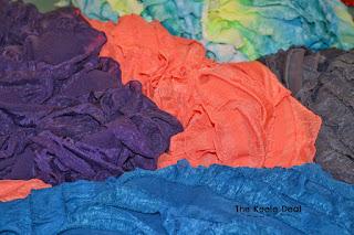 Ruffle Fabric for Ruffle Skirt
