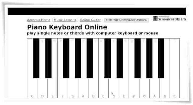 Apronus Online piano