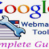 Google Webmaster Tools Complete Guide