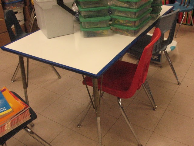 Student seating desks vs tables setting up your for Tables and desks in the classroom