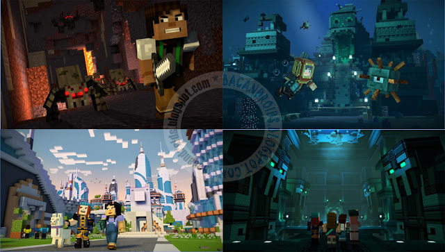 minecraft Story mode season two apk data