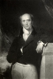 Charles Grey  by Thomas Lawrence 1828  from The History of White's   by Hon Algernon Bourke (1892)
