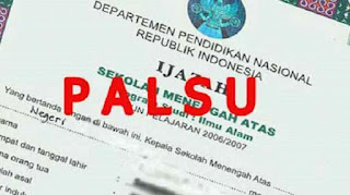 Data PNS Palsu