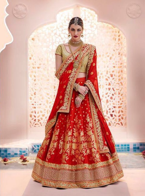Red Bridal Lehenga for Inspiration