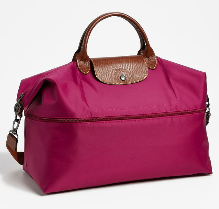 Buy Best Portable Longchamp Le Pliage Hobo Bags Fuchsia
