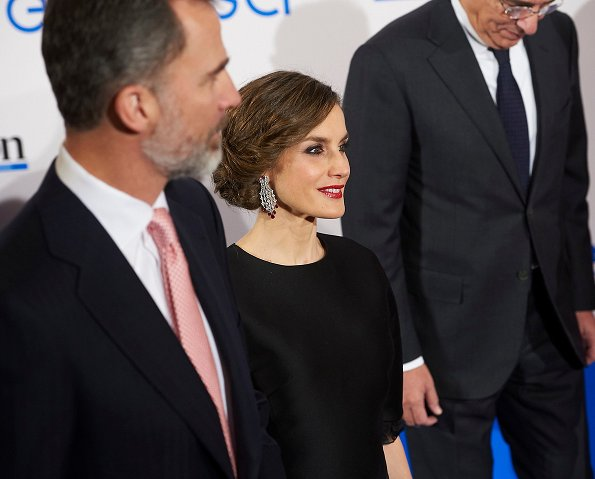 Queen Letizia and King Felipe attend the 30th Anniversary event of 'Expansion' Newspaper at the Westin Palace