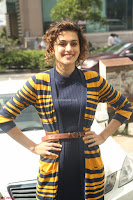 Taapsee Pannu looks super cute at United colors of Benetton standalone store launch at Banjara Hills ~  Exclusive Celebrities Galleries 080.JPG