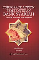 Corporate Action Pembentukan Bank Syariah