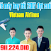 Vé máy bay tết 2017 đợt cuối của Vietnam Airlines