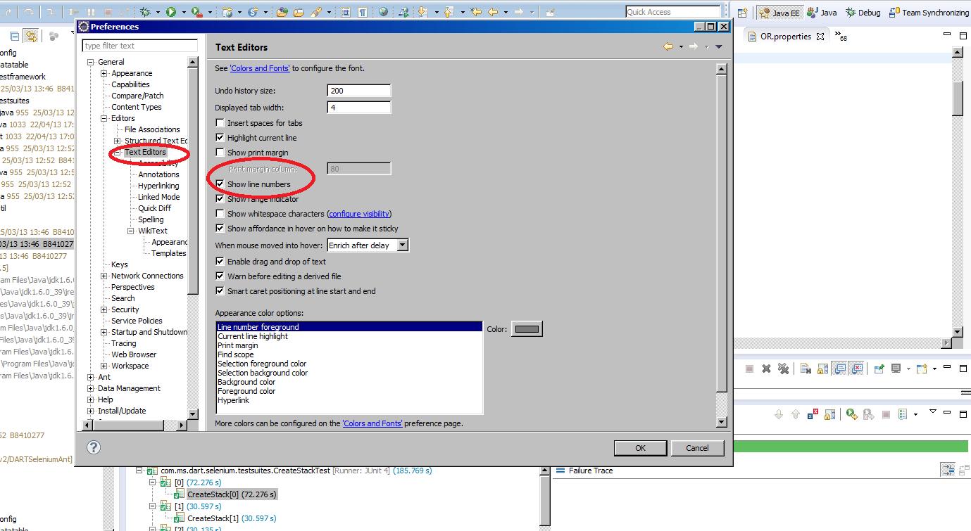 Selenium Java Help: 2013
